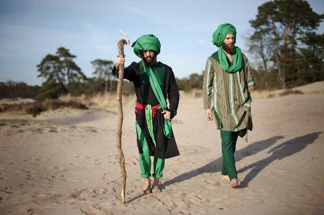 আফগান যুবকের ফ্যাশন-বিপ্লব