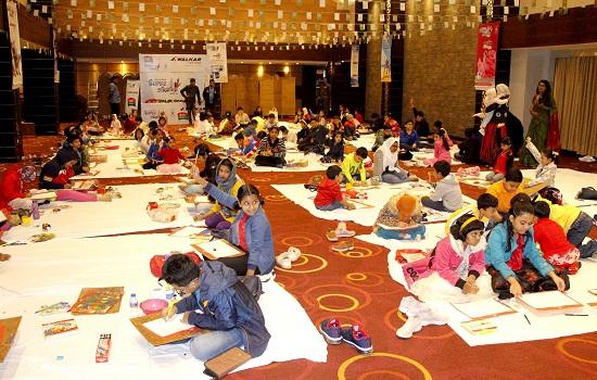 ঢাকা রিজেন্সীর আয়োজনে চিত্রাঙ্কন প্রতিযোগীতায় শিশুরা